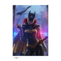 DC Comics: Batgirl Unframed Art Print Sideshow Collectibles Product