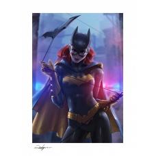 DC Comics: Batgirl Unframed Art Print - Sideshow Collectibles (EU)