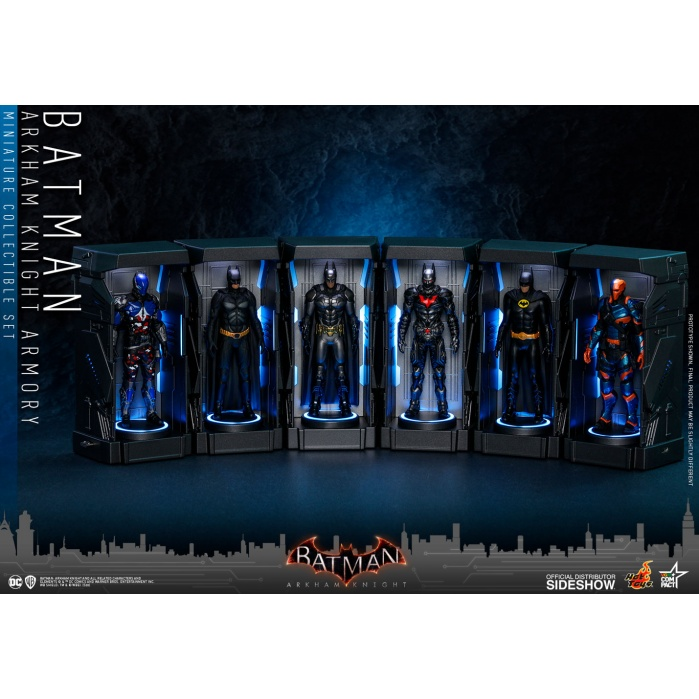 DC Comics: Batman Arkham Knight - Armory Miniature Set Hot Toys Product