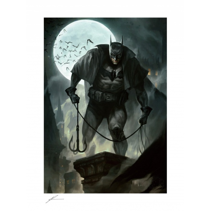 DC Comics: Batman - Gotham by Gaslight Unframed Art Print Sideshow Collectibles Product