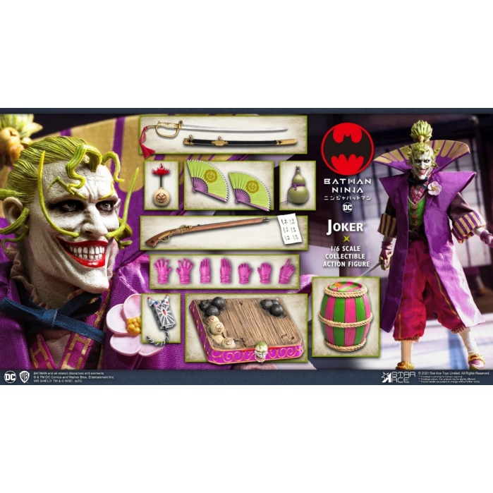 DC Comics: Batman Ninja Movie - Deluxe Lord Joker 1:6 Scale Figure Star Ace Toys Product