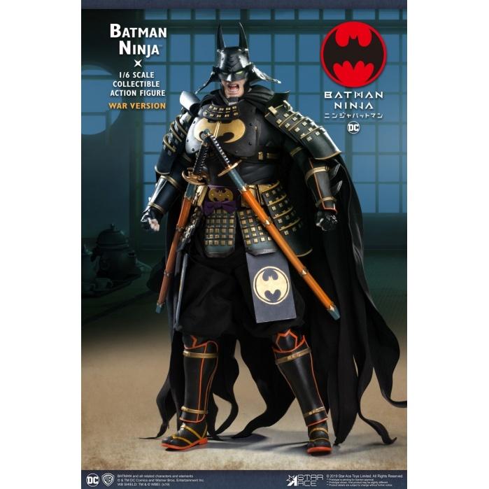 DC Comics: Batman Ninja Movie - Deluxe War Batman 1:6 Scale Figure Star Ace Toys Product