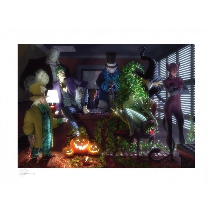 DC Comics: Batman - The Long Halloween Unframed Art Print Sideshow Collectibles Product