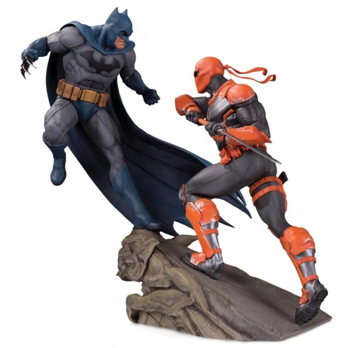 DC Comics: Batman Vs Deathstroke Battle Statue Diamond Select Toys Product