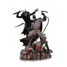 DC Comics Battle Statue Batman Who Laughs vs. Batman 33 cm | DC Collectibles