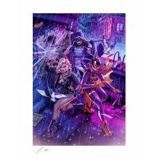 DC Comics: Birds of Prey Unframed Art Print - Sideshow Collectibles (EU)