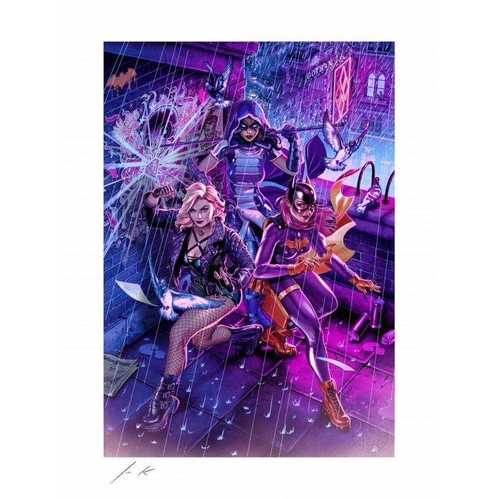 DC Comics: Birds of Prey Unframed Art Print Sideshow Collectibles Product