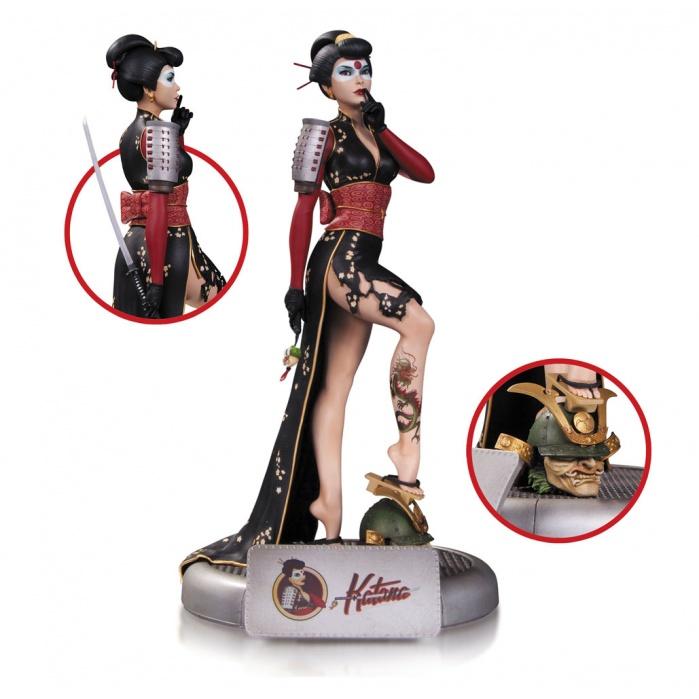 DC Comics Bombshells Statue Katana DC Collectibles Product