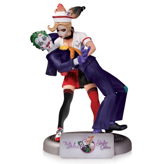 DC Comics Bombshells Statue The Joker & Harley Quinn DC Collectibles Product