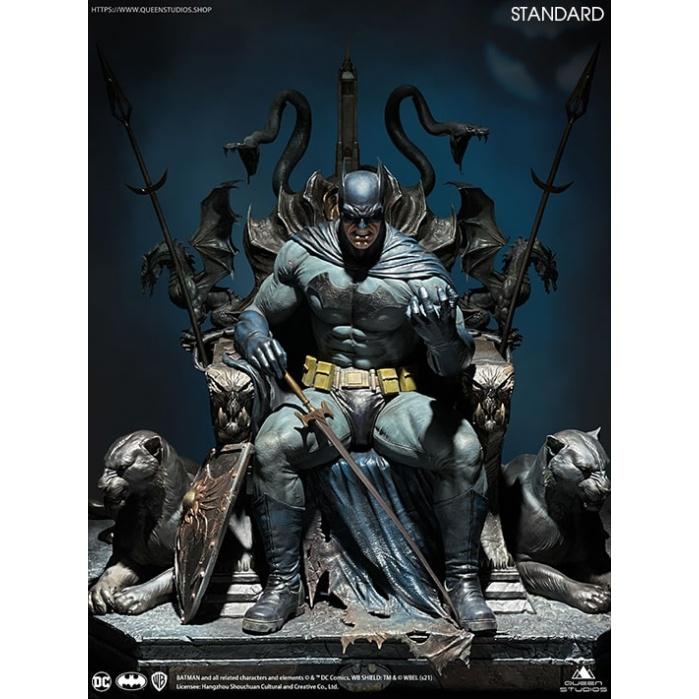DC Comics: Dark Nights Metal - Batman on Throne 1:4 Scale Statue Queen Studios Product