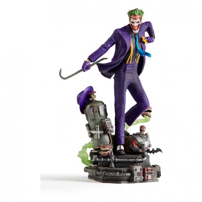 DC Comics Deluxe Art Scale Statue 1/10 The Joker Iron Studios Product