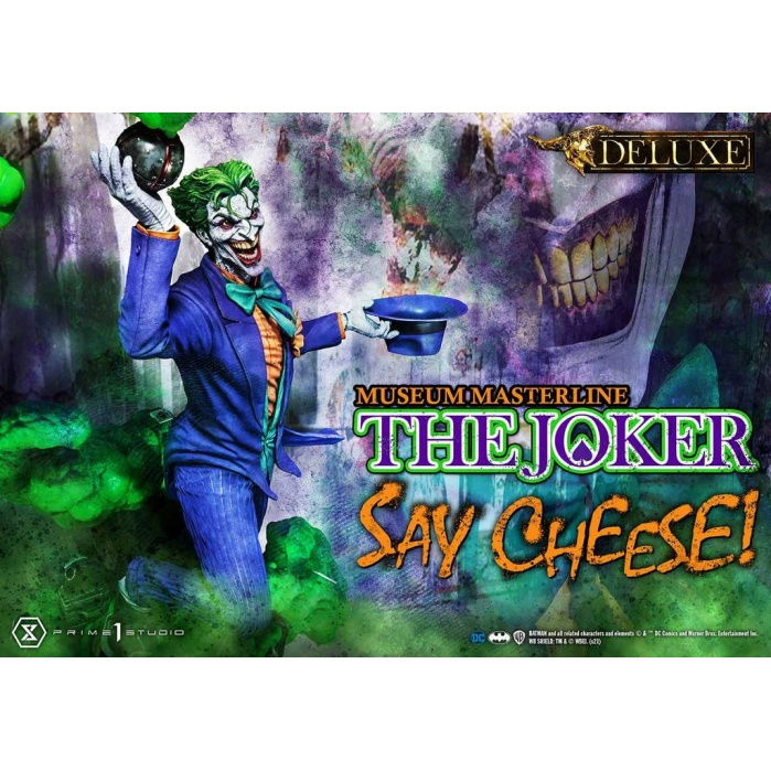 DC Comics: Deluxe The Joker Say Cheese 1:3 Scale Statue Prime 1 Studio Product