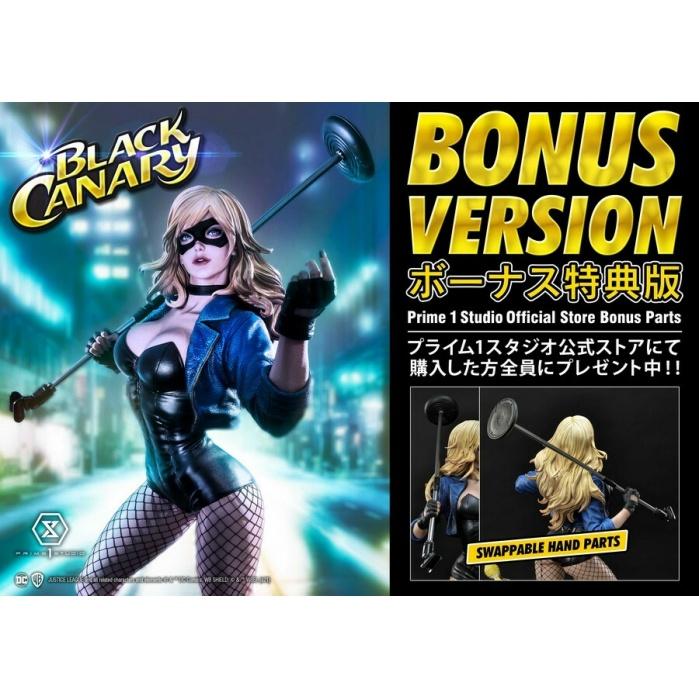 DC Comics: Exclusive Black Canary Bonus Version 1:3 Scale Statue Prime 1 Studio Product