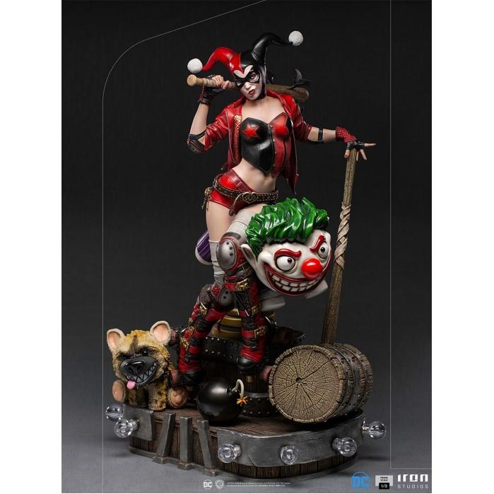 DC Comics: Harley Quinn 1:3 Scale Statue Iron Studios Product