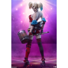 DC Comics: Harley Quinn Hell on Wheels Premium Statue Sideshow Collectibles Product Image