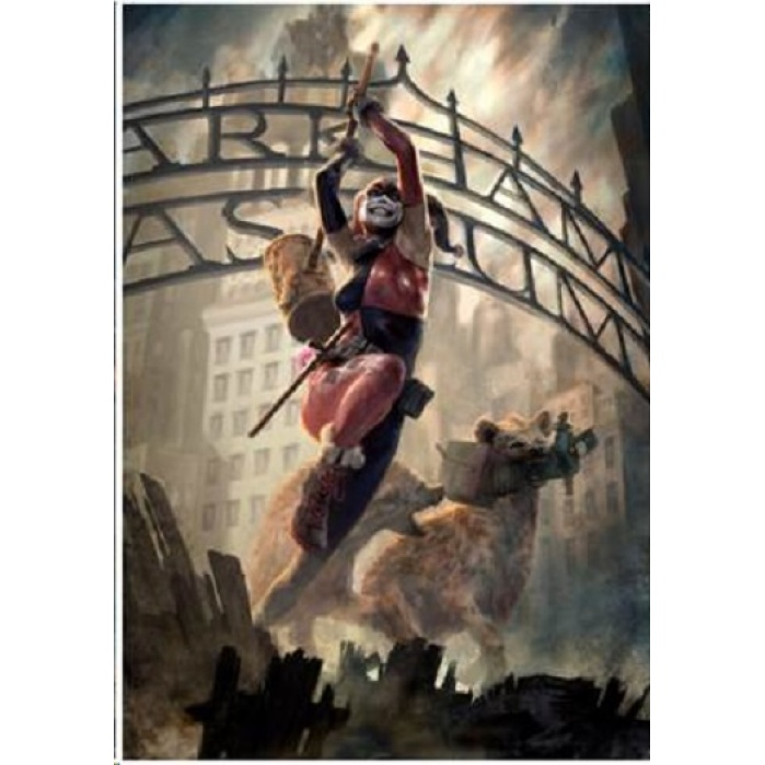 DC Comics: Harley Quinn Unframed Art Print Sideshow Collectibles Product