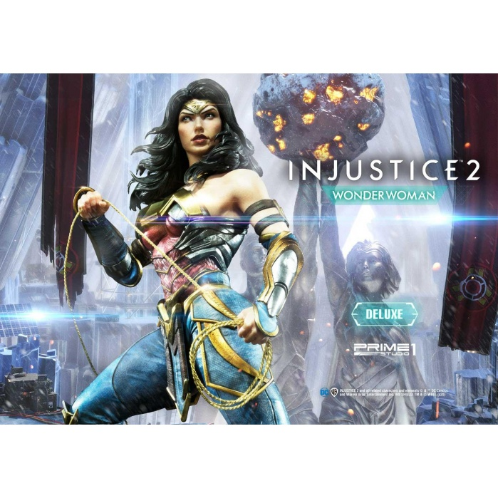 DC Comics: Injustice 2 - Deluxe Wonder Woman 1:4 Scale Statue Prime 1 Studio Product