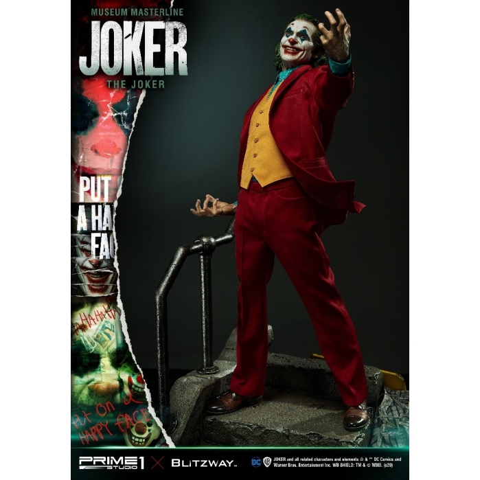 DC Comics: Joker Movie - The Joker 1:3 Scale Statue Prime 1 Studio Product