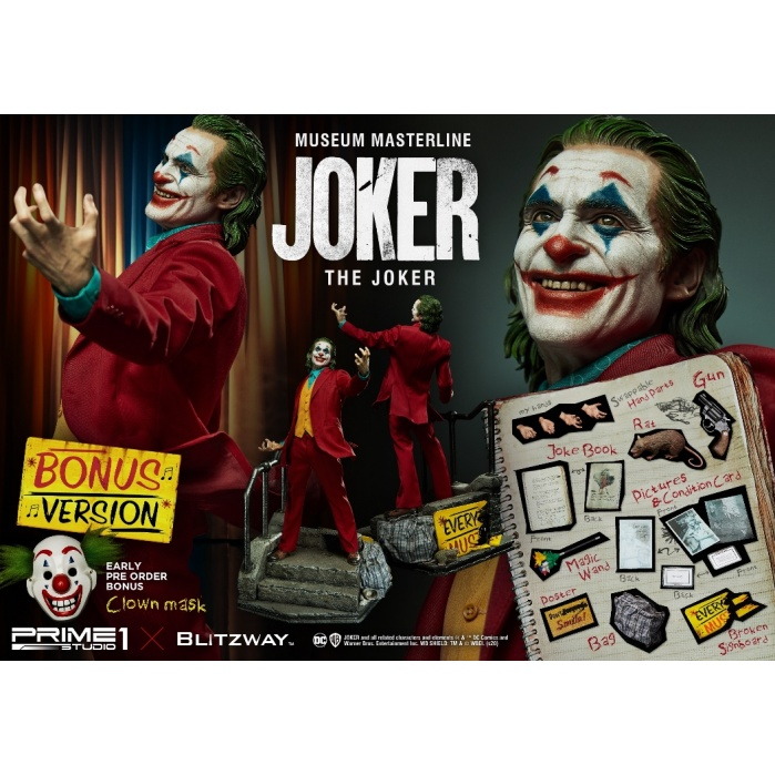DC Comics: Joker Movie - The Joker Bonus Version 1:3 Scale Statue Prime 1 Studio Product