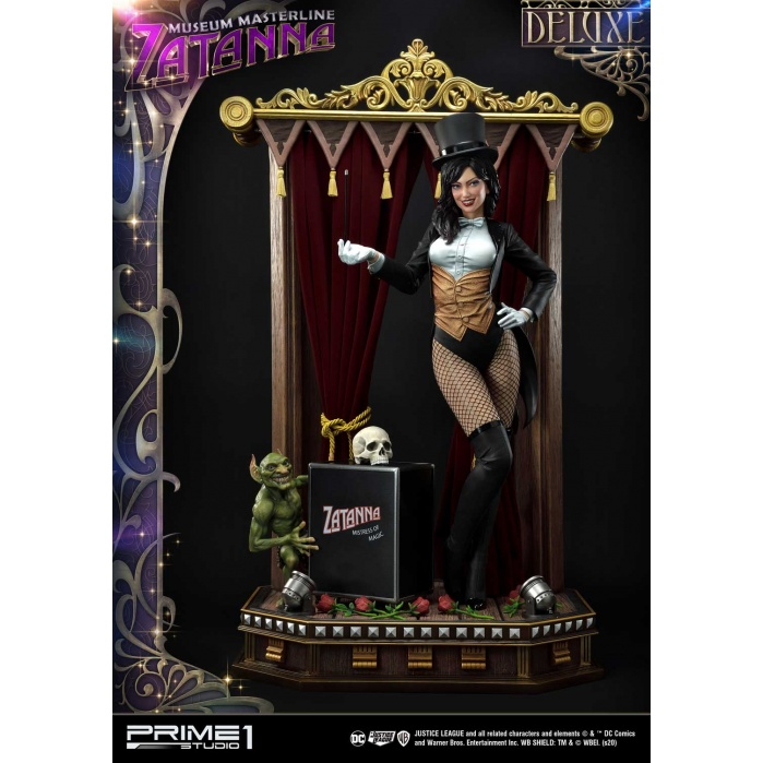 DC Comics: Justice League Dark - Deluxe Zatanna 1:3 Scale Statue Prime 1 Studio Product