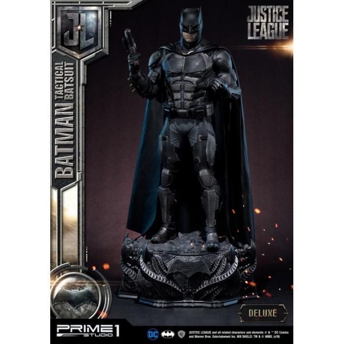 DC Comics: Justice League - Deluxe Batman Tactical Batsuit Statue Prime 1 Studio Product