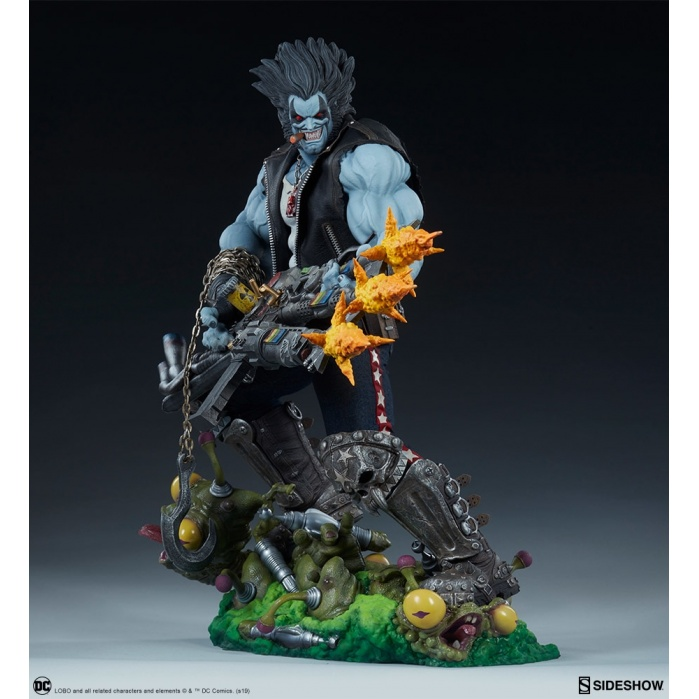 DC Comics: Lobo Maquette Sideshow Collectibles Product