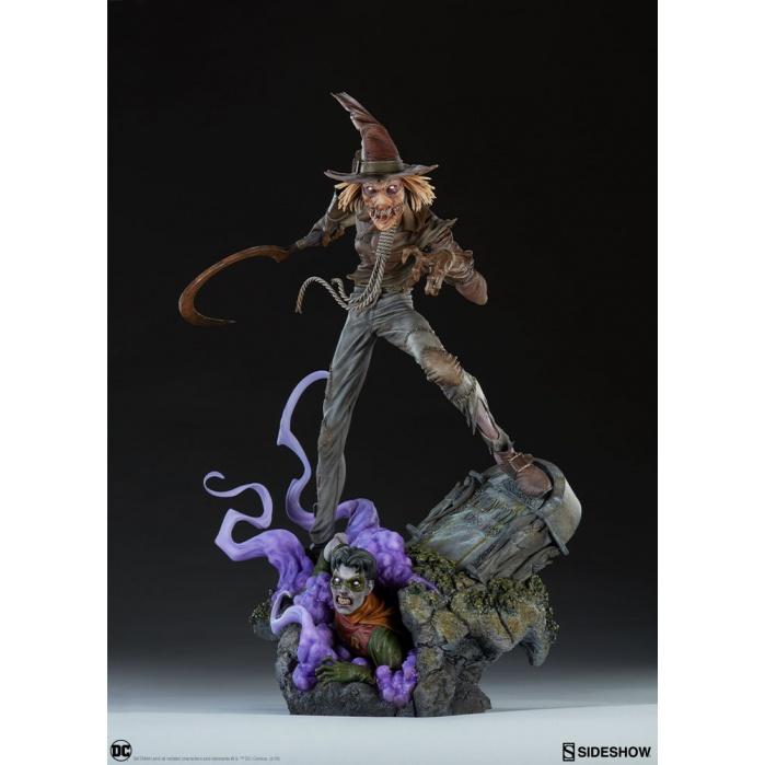 DC Comics: Scarecrow Premium Format Statue Sideshow Collectibles Product