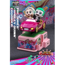 DC Comics: Suicide Squad - Joker and Harley Quinn 5 inch CosRider | Hot Toys