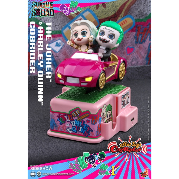 DC Comics: Suicide Squad - Joker and Harley Quinn 5 inch CosRider Hot Toys Product