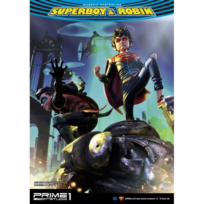 DC Comics: Superboy and Robin 25 inch Statue Prime 1 Studio Product