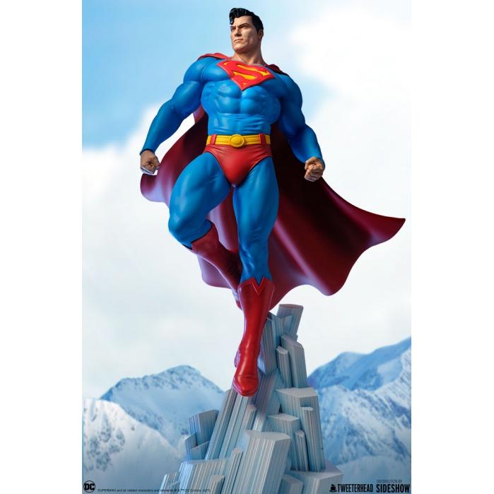 DC Comics: Superman Maquette Tweeterhead Product