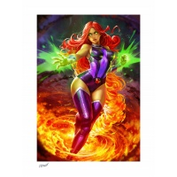 DC Comics: Teen Titans - Starfire Unframed Art Print Sideshow Collectibles Product