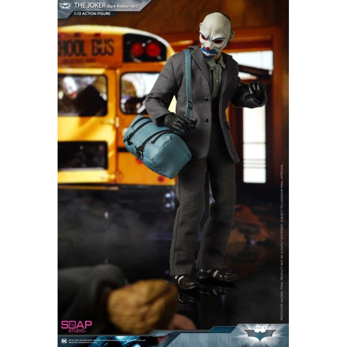 DC Comics: The Dark Knight - Joker 1:12 scale Action Figure Soap Studio Product