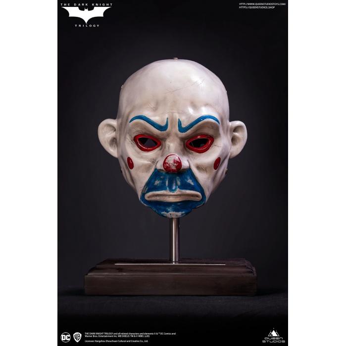 DC Comics: The Dark Knight - Joker Clown Mask 1:1 Scale Prop Replica Queen Studios Product