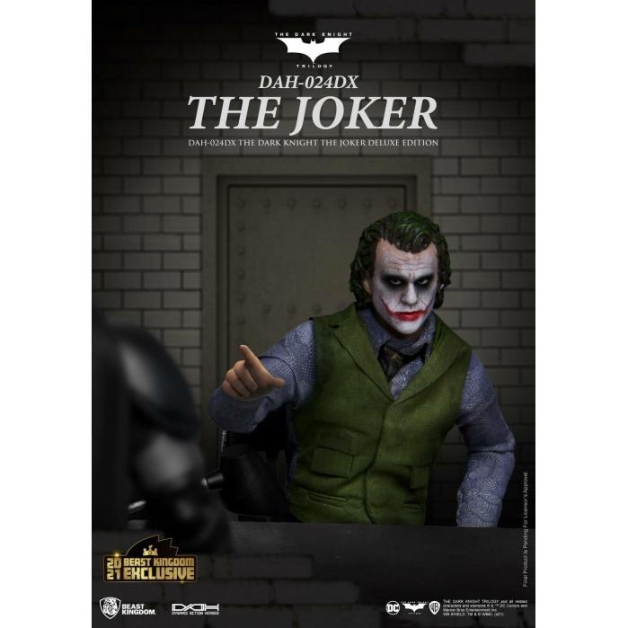 DC Comics: The Dark Knight - Joker Deluxe Version 1:9 Scale Figure Beast Kingdom Product