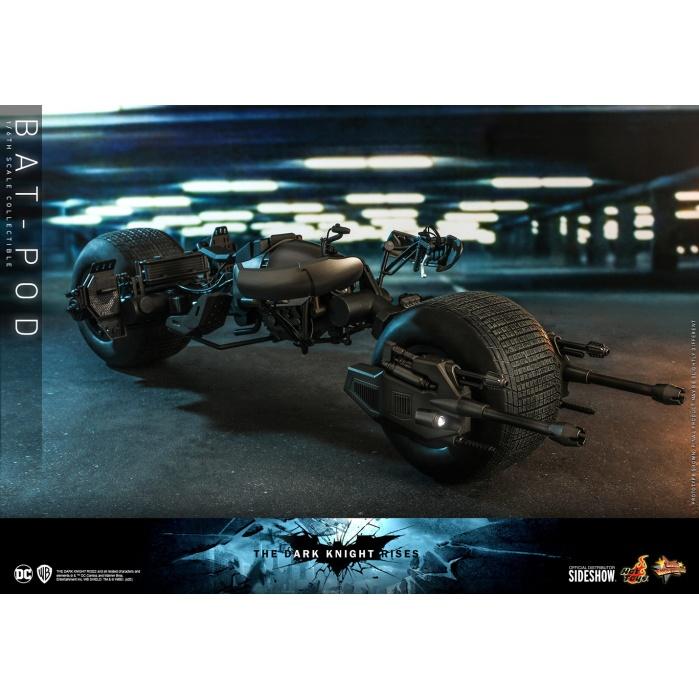 DC Comics: The Dark Knight Rises - Bat-Pod 1:6 Scale Replica Hot Toys Product