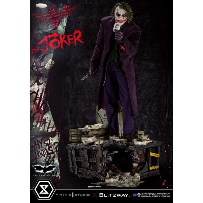 DC Comics: The Dark Knight - The Joker Bonus Version 1:3 Scale Statue Prime 1 Studio Product