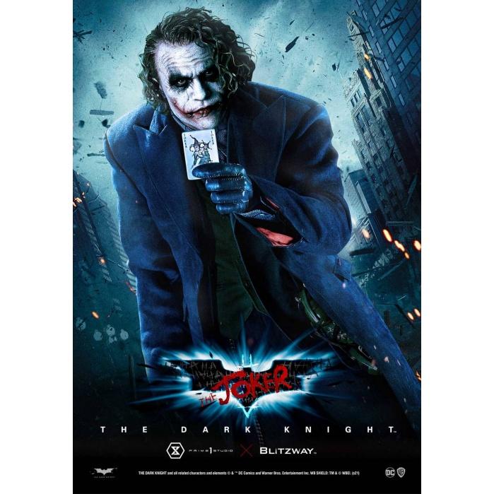 DC Comics: The Dark Knight - The Joker Bust Prime 1 Studio Product