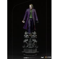 DC Comics: The Dark Knight - The Joker Deluxe 1:10 Scale Statue | Iron Studios