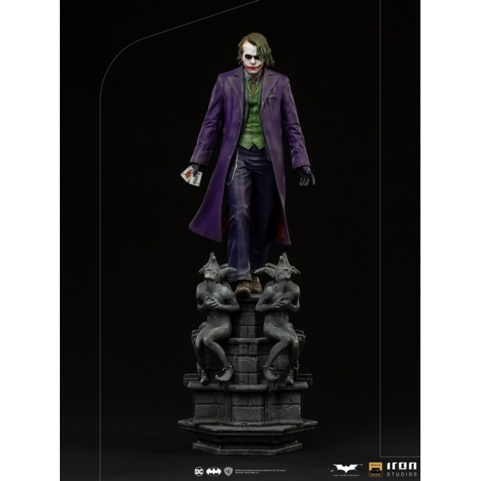 DC Comics: The Dark Knight - The Joker Deluxe 1:10 Scale Statue Iron Studios Product