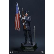DC Comics: The Dark Knight Trilogy - Joker 1:3 Police UniformStatue   Queen Studios