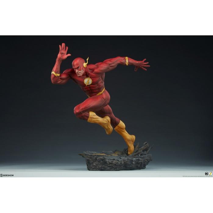 DC Comics: The Flash Premium Format Statue Sideshow Collectibles Product