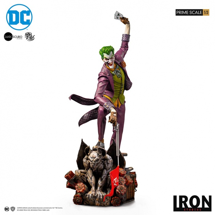DC Comics: The Joker 1:3 Scale Statue by Ivan Reis Iron Studios Product