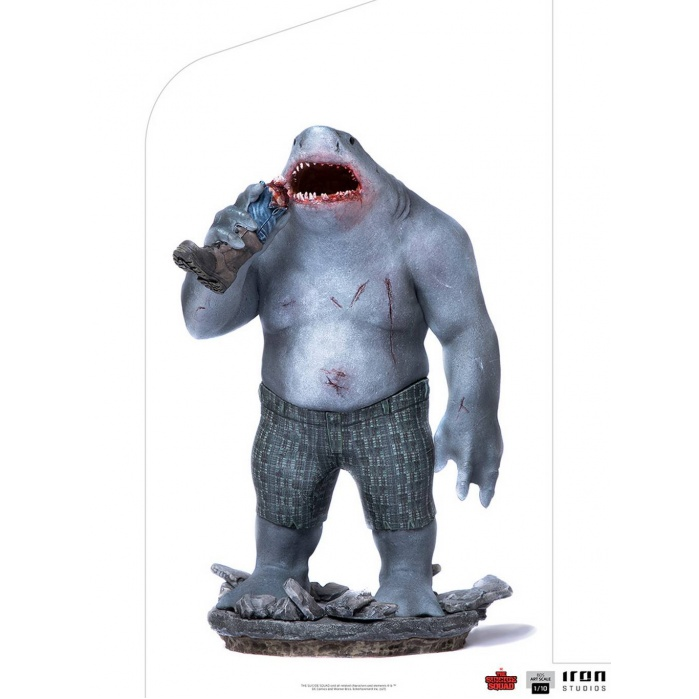 DC Comics: The Suicide Squad - King Shark 1:10 Scale Statue Iron Studios Product