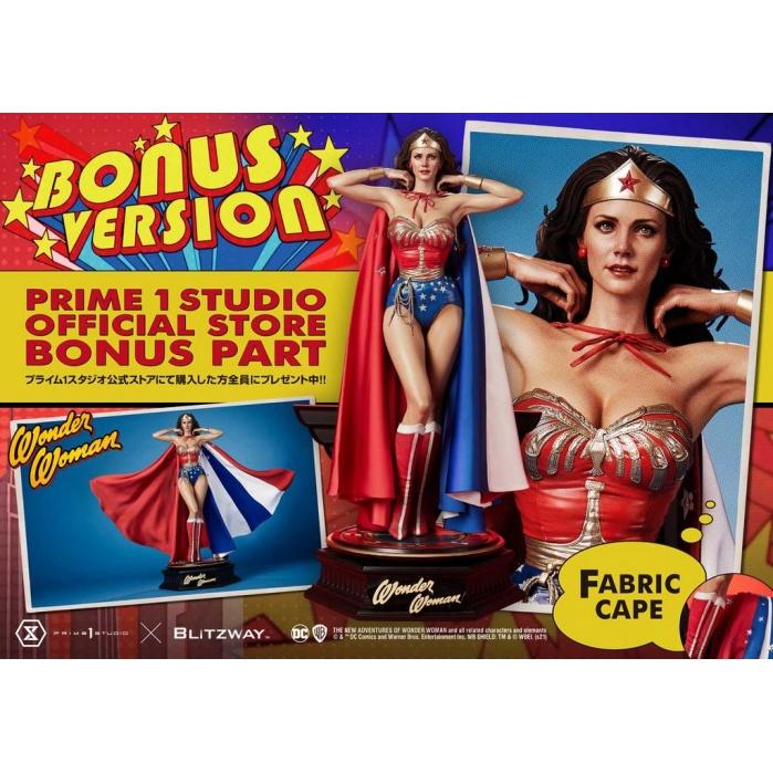DC Comics: Wonder Woman 1975 Series - Wonder Woman Bonus Version 1:3 Scale Statue Prime 1 Studio Product
