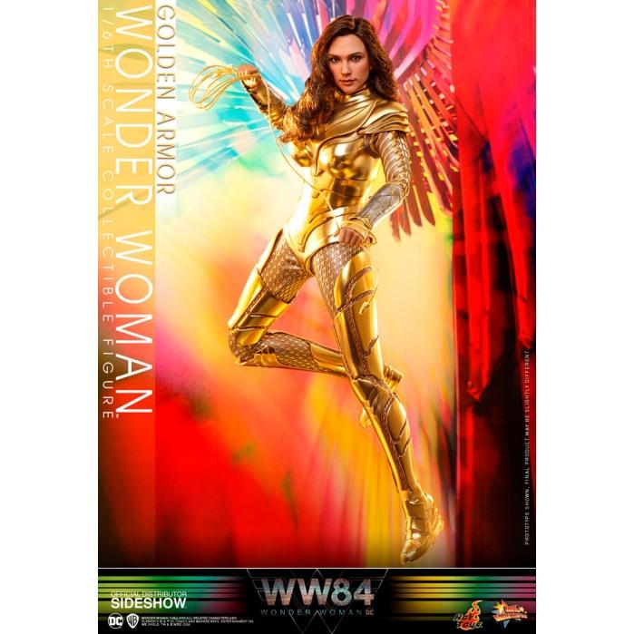DC Comics: Wonder Woman 1984 - Golden Armor Wonder Woman 1:6 Scale Figure Hot Toys Product