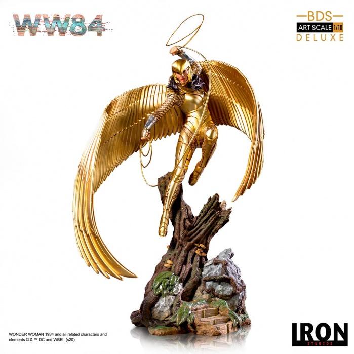 DC Comics: Wonder Woman 1984 - Wonder Woman 1:10 Scale Statue Iron Studios Product
