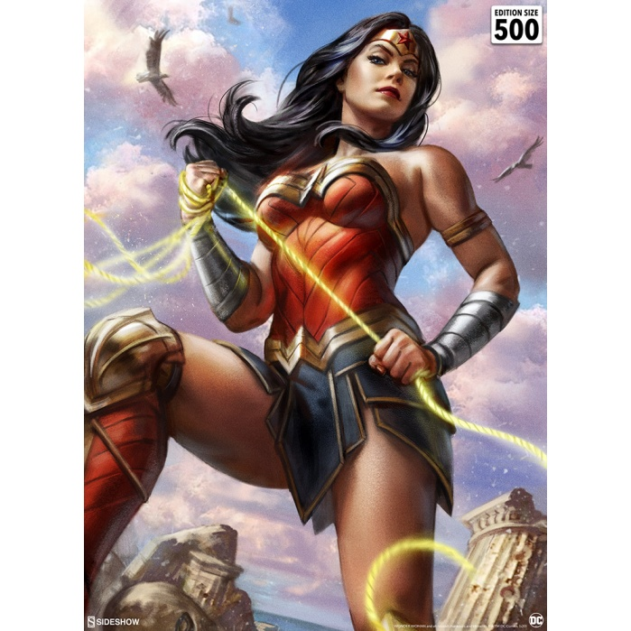 DC Comics: Wonder Woman #755 Unframed Art Print Sideshow Collectibles Product