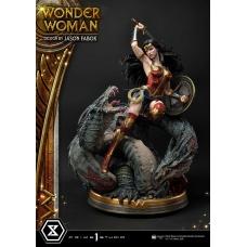 DC Comics: Wonder Woman vs Hydra 1:3 Scale Statue | Prime 1 Studio