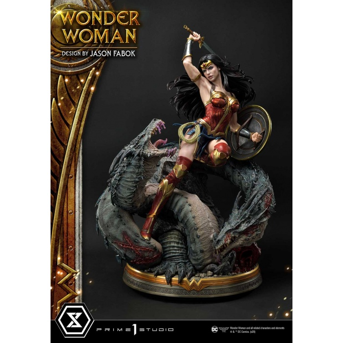 DC Comics: Wonder Woman vs Hydra 1:3 Scale Statue Prime 1 Studio Product
